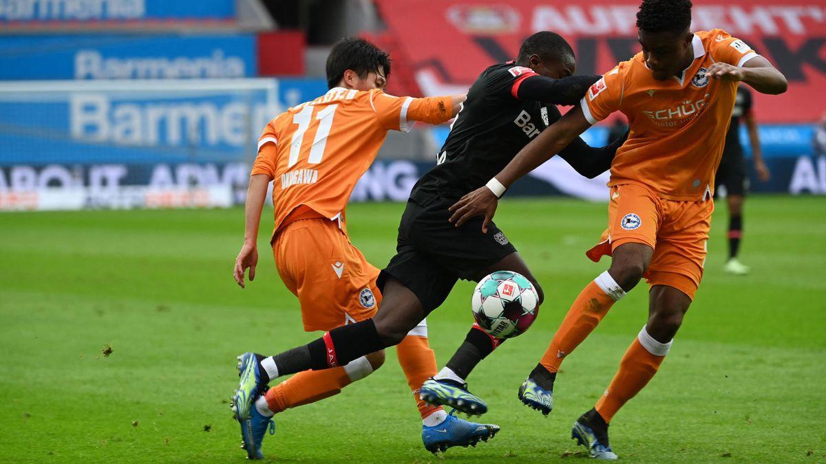 Bayer Leverkusen gegen Arminia Bielefeld