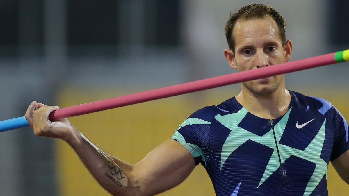"""Renaud Lavillenie, le 25 septembre à Doha, en Diamond League, au coeur d'une saison 2020 privée de son """"main event"""" olympique"""