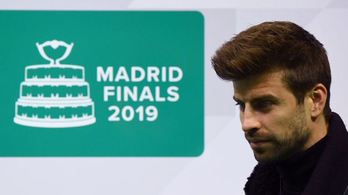 Gerard Piqué organisiert den Davis-Cup mit