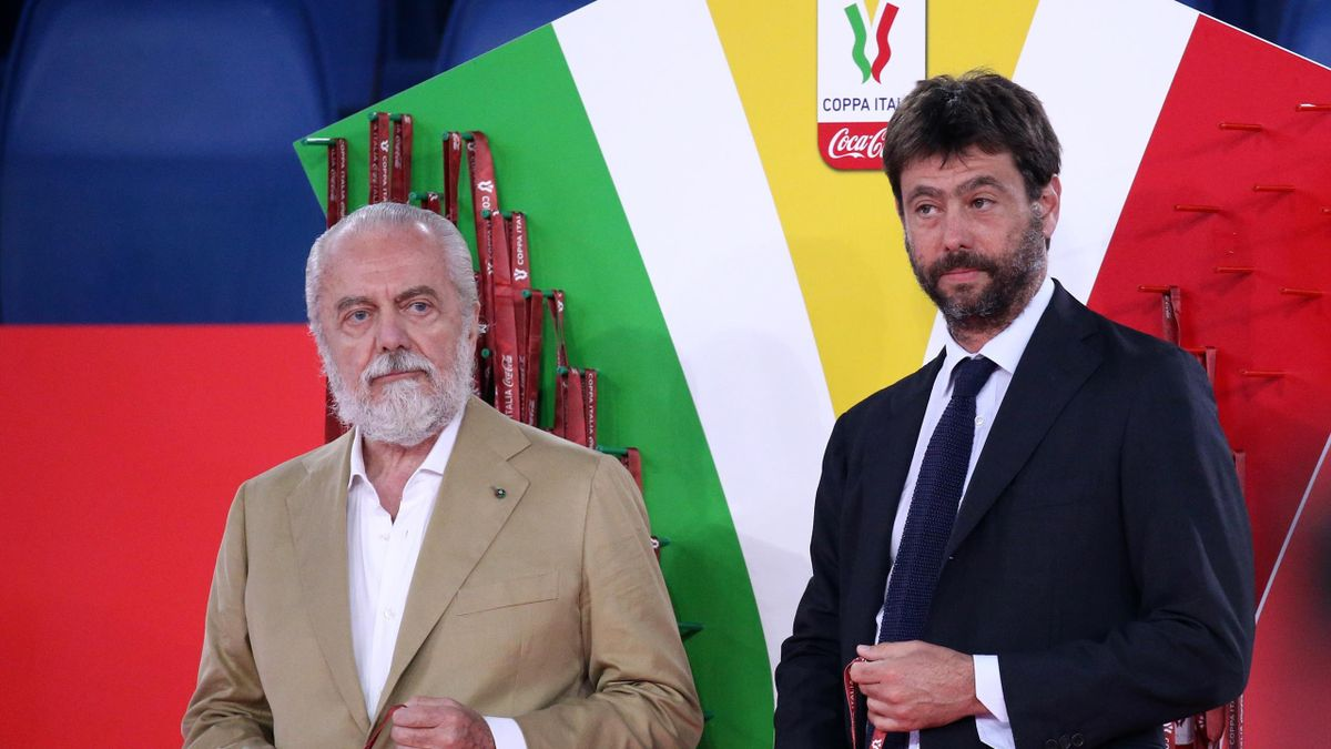Andrea Agnelli, Aurelio De Laurentiis, Getty Images