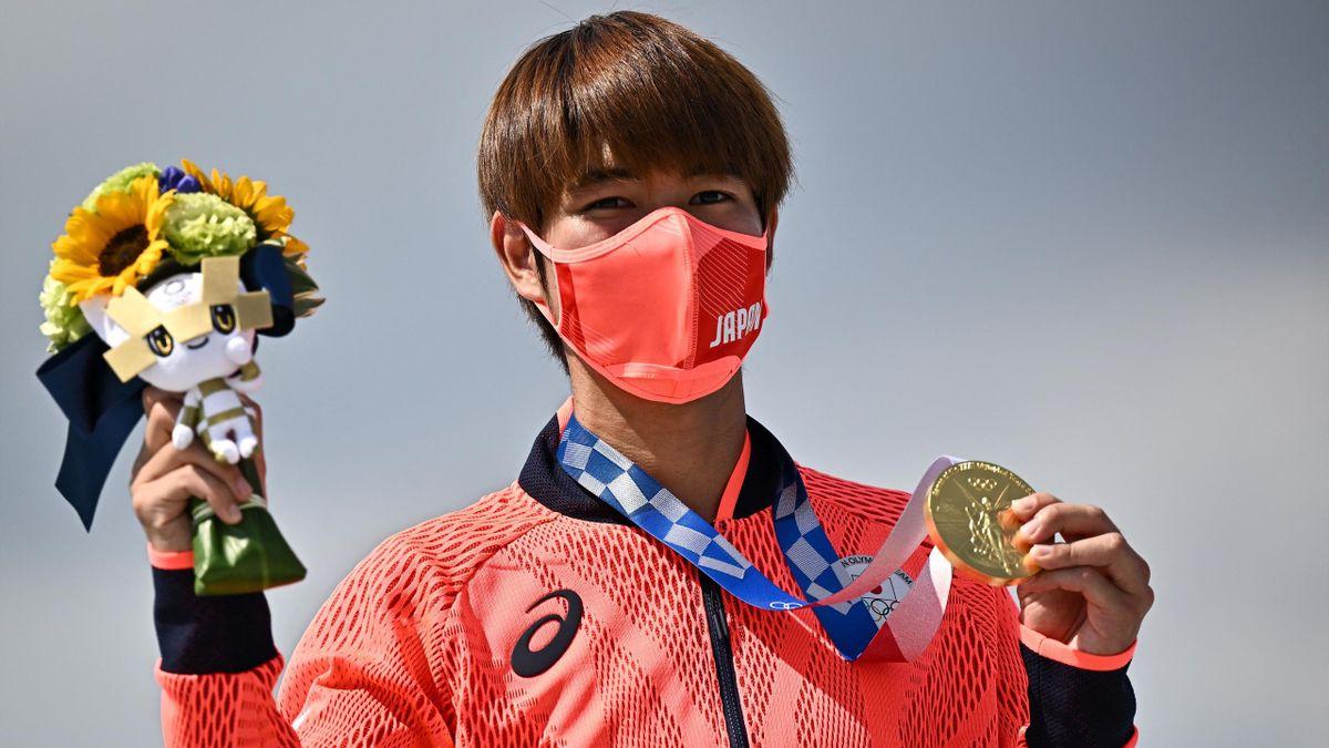 Yuto Horigome gewinnt historisches Gold.