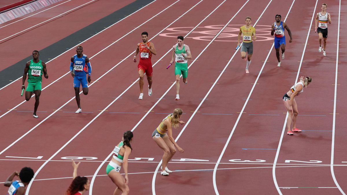 deutsche 400m Mixed-Staffel