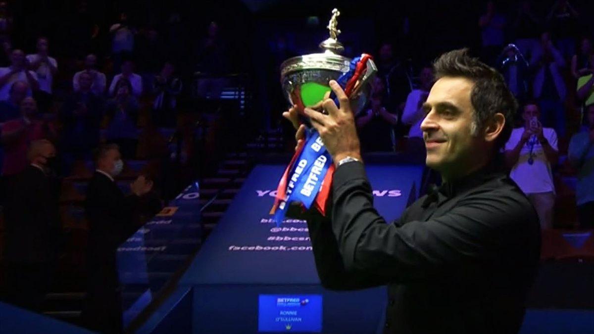 Ronnie O'Sullivan a câștigat pentru a șasea oară Campionatul Mondial de Snooker