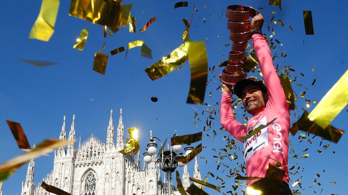 Tom Dumoulin, Giro d'Italia 2017 (Getty Images)