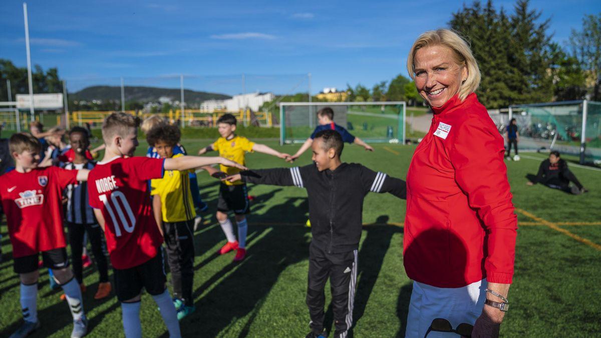Berit Kjøll møter Sagene Idrettsforening