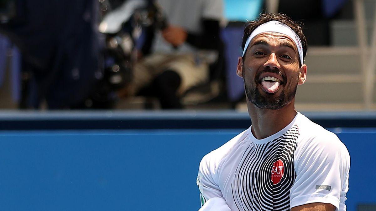 Fabio Fognini, Tokyo 2020, Tennis, Getty Images