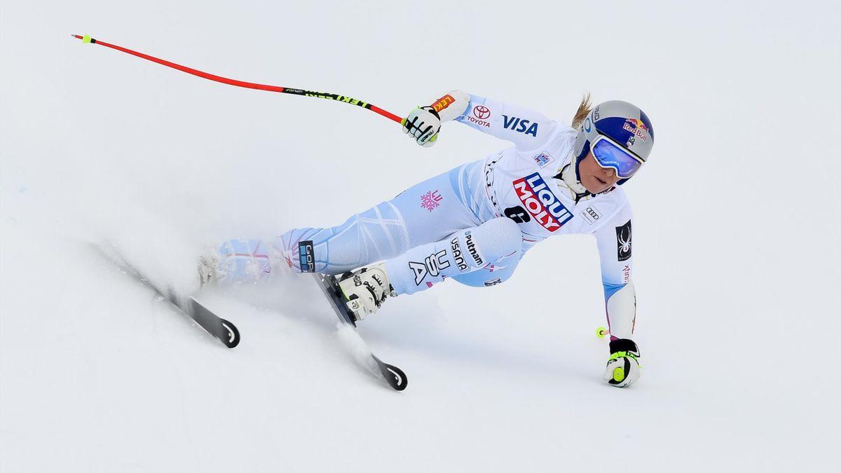Lindsey Vonn (Supergigante Val d'Isère)