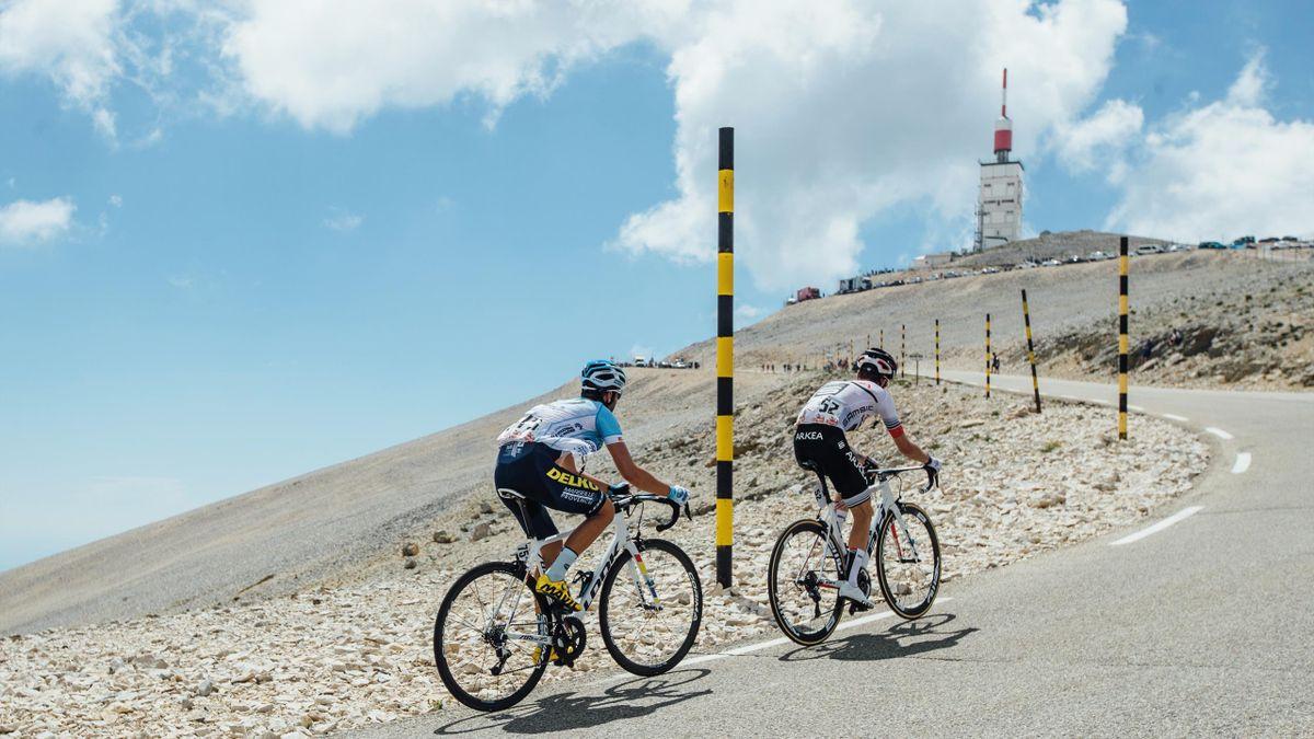 """Der Mont Ventoux wird auch der """"kahle Berg"""" genannt"""