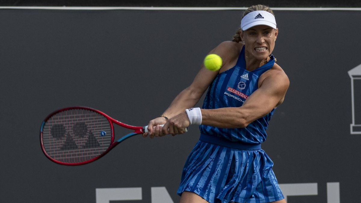 Angelique Kerber beim WTA-Turnier in Bad Homburg