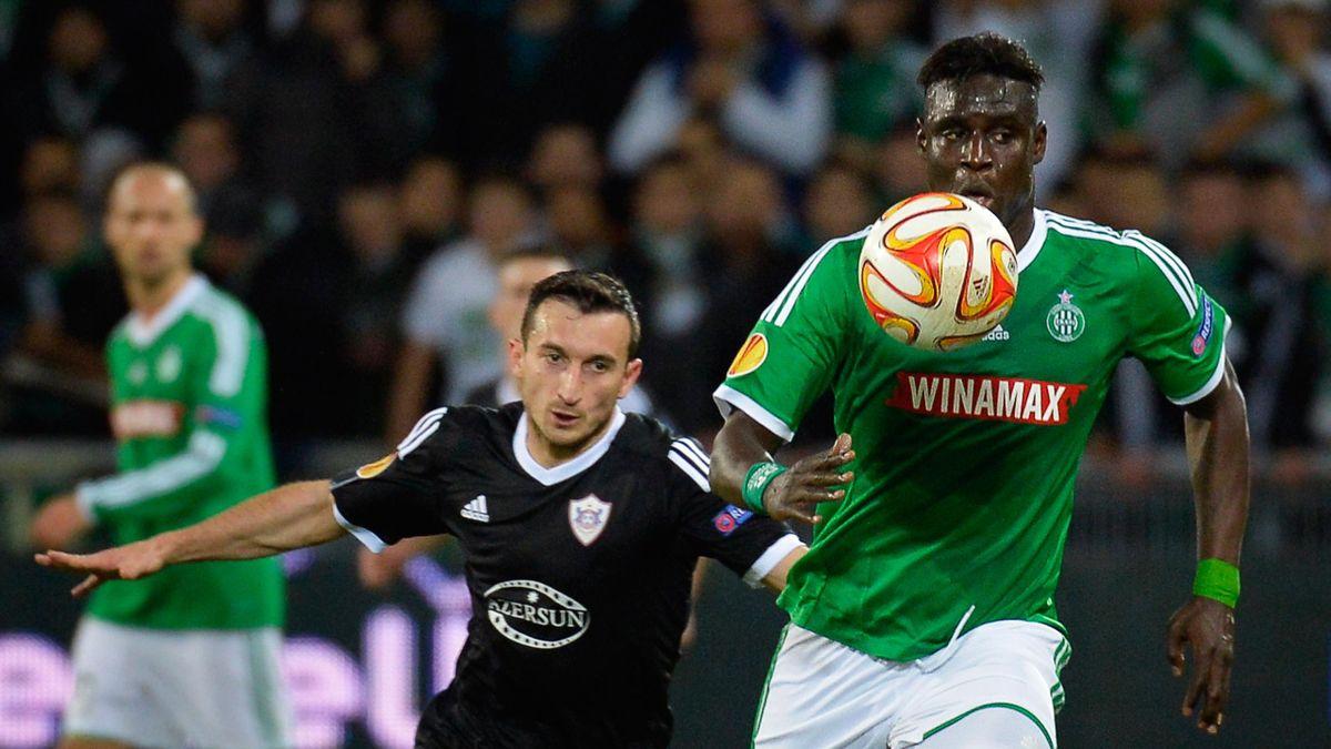 Mustapha Bayal Sall avec Saint-Etienne en Ligue Europa - 2014-2015