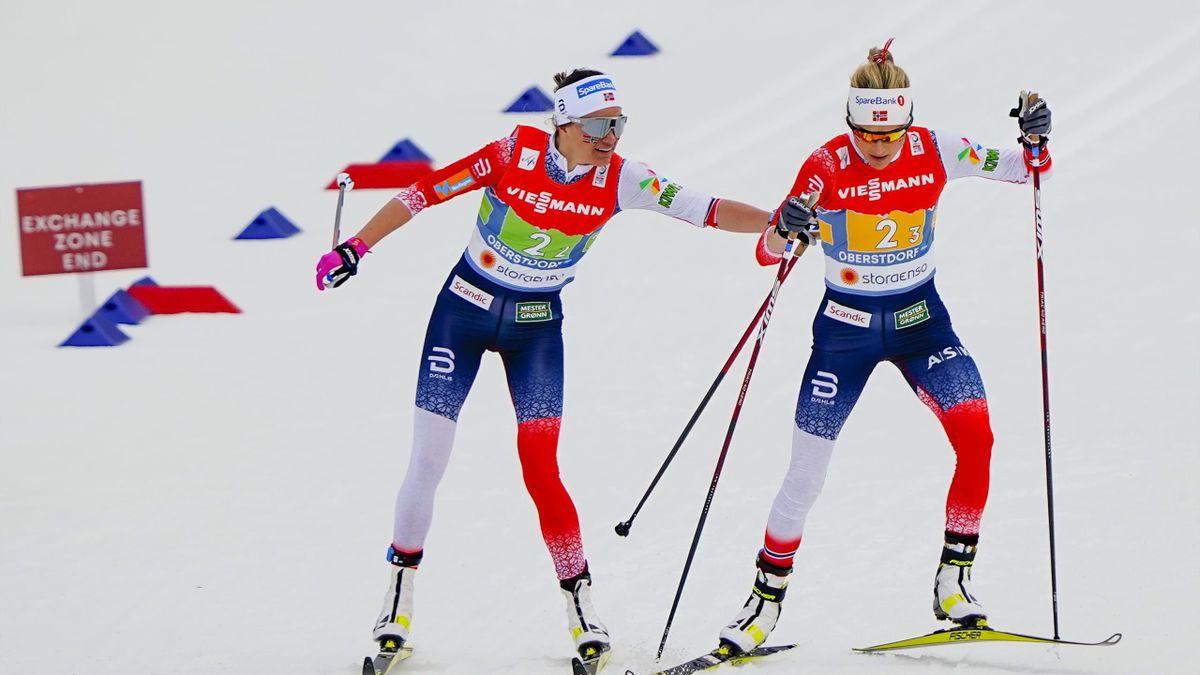 Heidi Weng, Therese Johaug