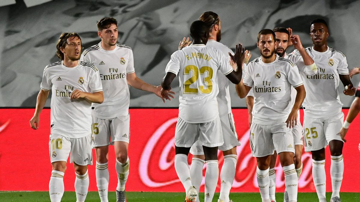Le Real Madrid contre Majorque (2-0)