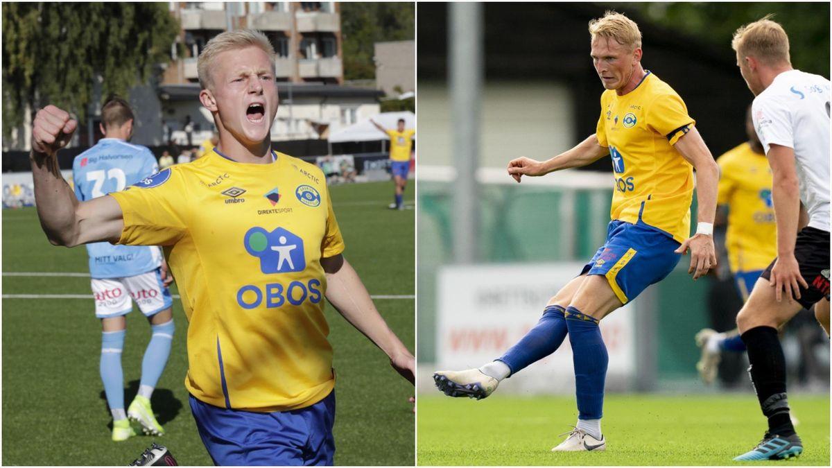 Oscar Aga, Martin Høyland