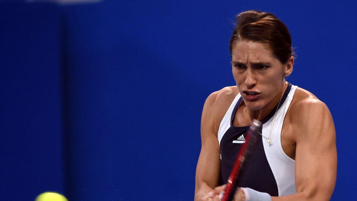 Andrea Petkovic ist mit einer Niederlage in China gestartet