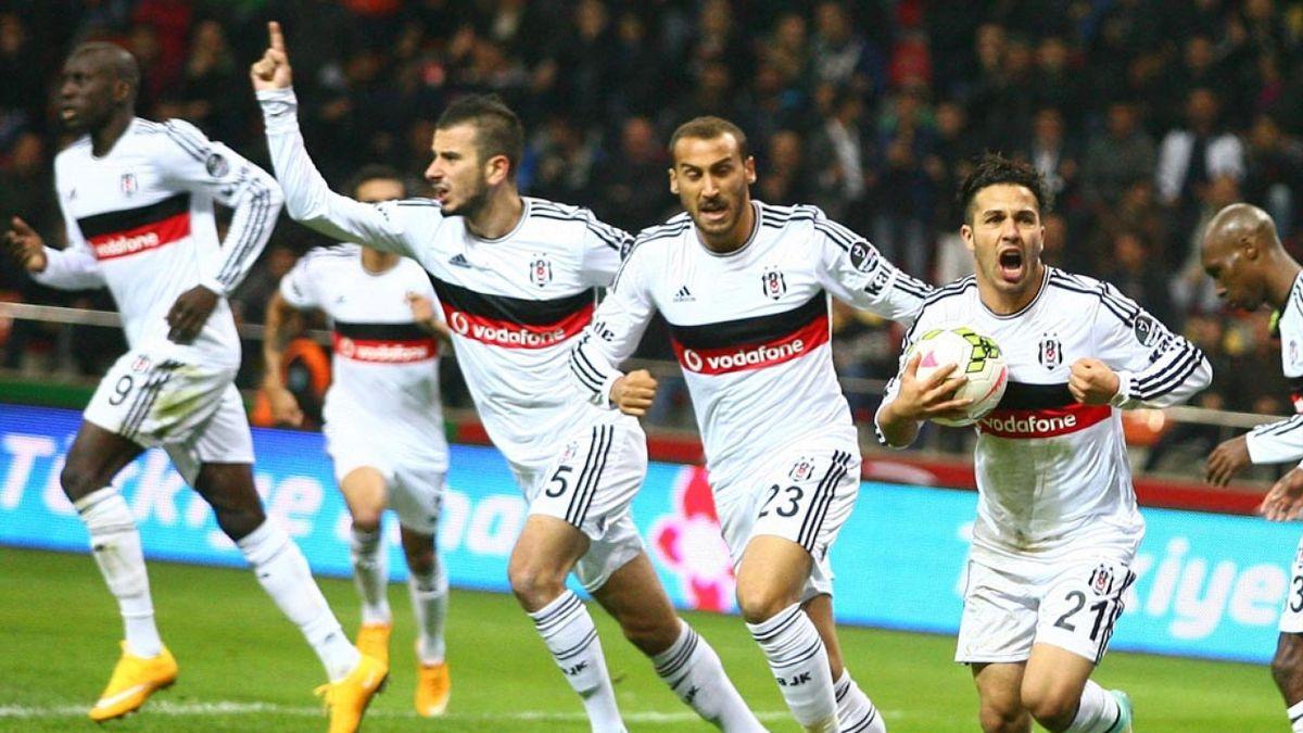 Kayseri Erciyesspor - Beşiktaş Kerim Frei
