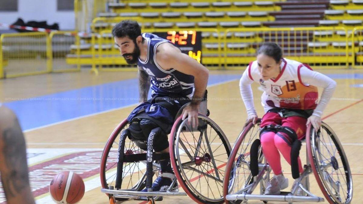 Ilaria D'Anna, record di punti nel basket in carrozzina
