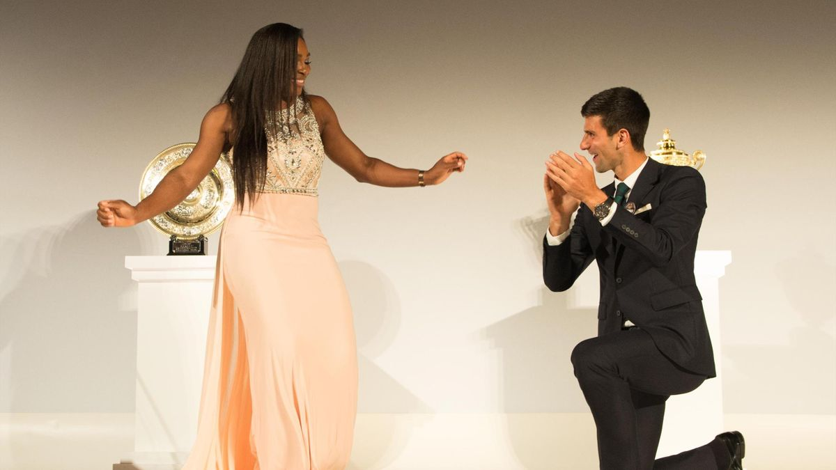 Serena Williams, Novak Djokovic