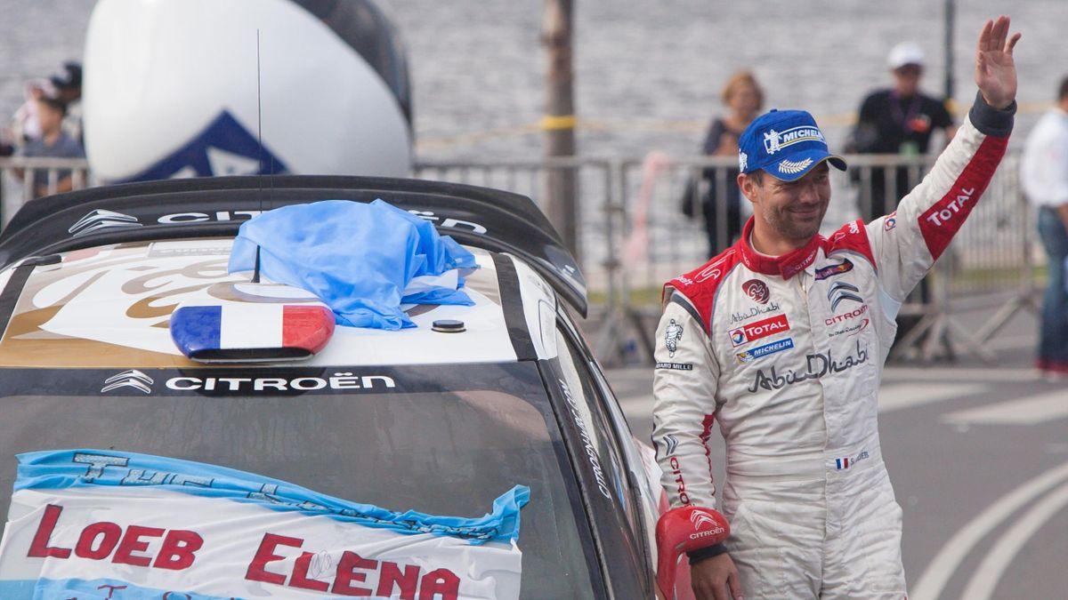 Sébastien Loeb en 2013