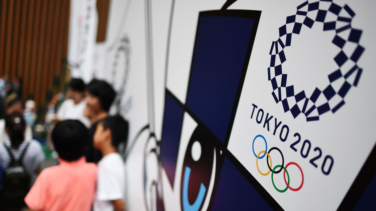 Лого Олимпийских игр-2020 в Токио