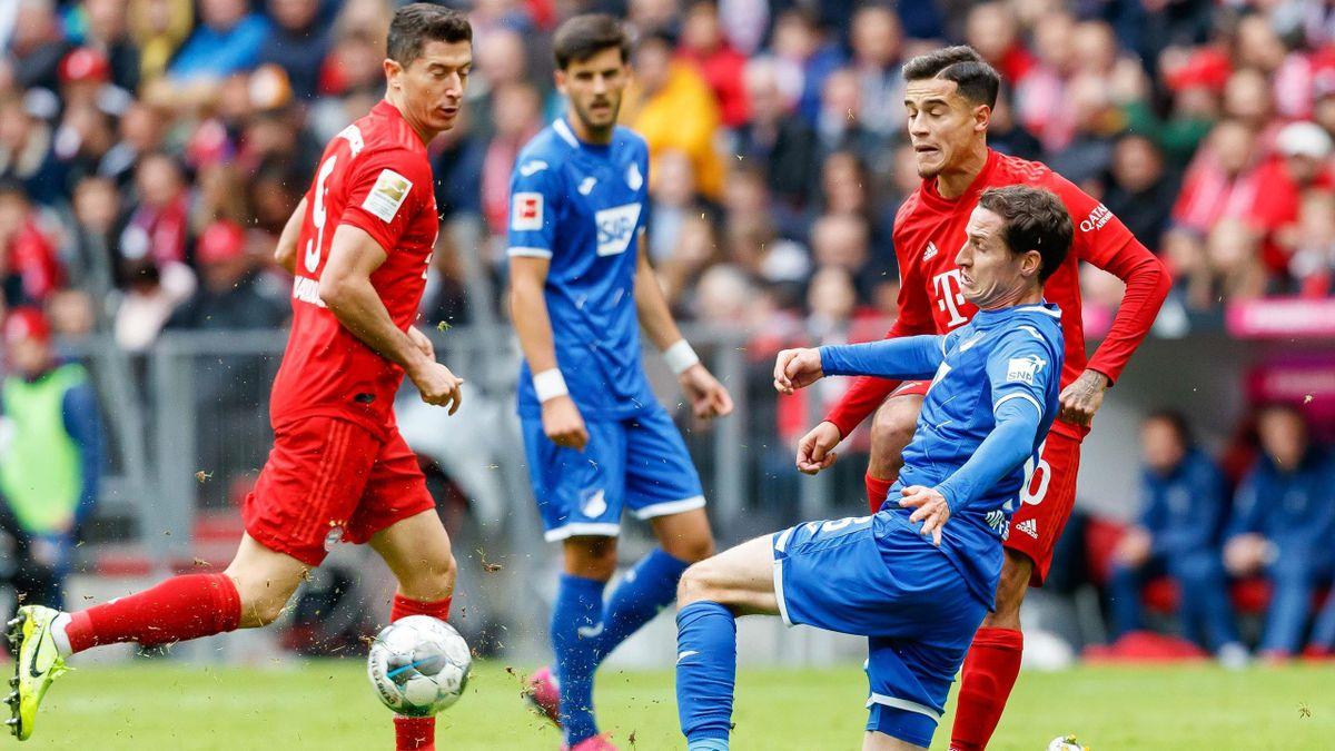 Sebastian Rudy gegen Coutinho - FC Bayern München vs. TSG 1899 Hoffenheim