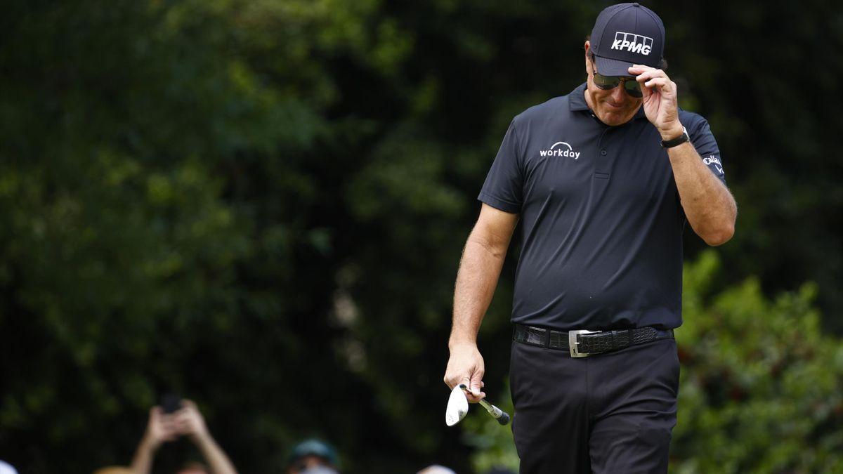 Le golfeur américain Phil Mickelson.