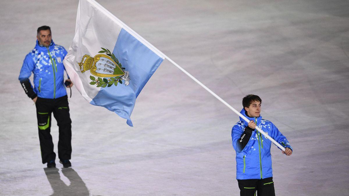 Alessandro Mariotti (Sci Alpino, unico rappresentante di San Marino alle Olimpiadi di PyeongChang 2018) (Getty Images)