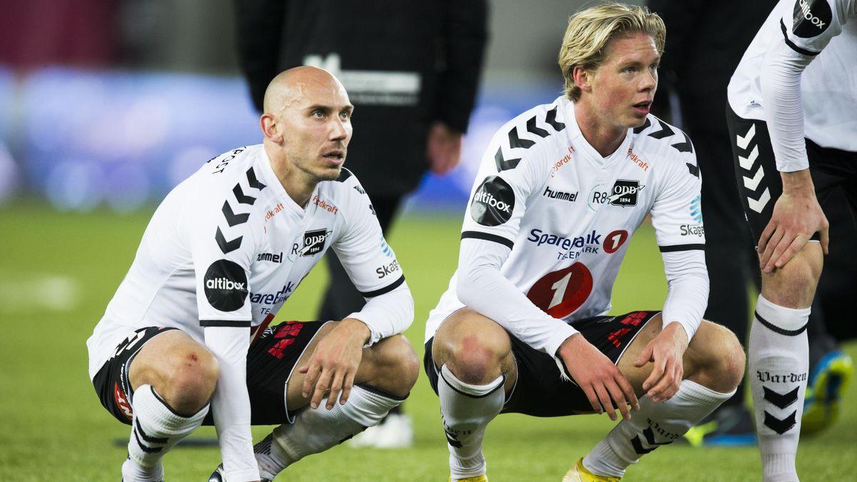Jones Samuelsen og André Sødlund