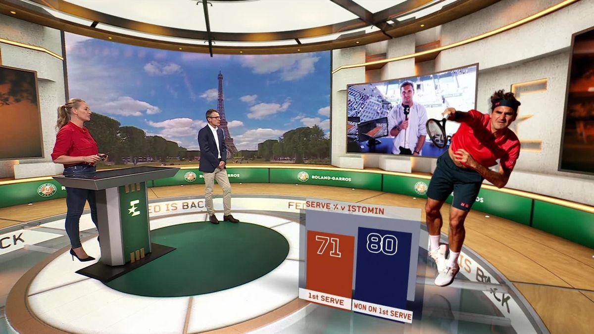 Roland-Garros | De terugkeer van Federer