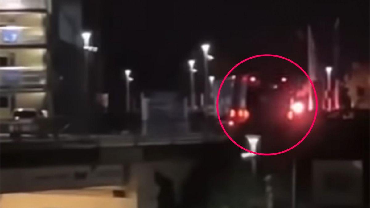 Video zeigt Explosion eines Feuerwerkskörpers am Schalker Mannschaftsbus