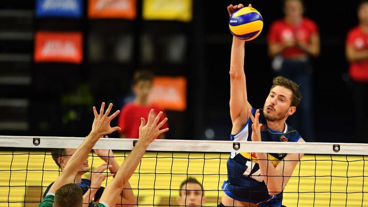 Matteo Piano - Italia-Bulgaria - Euro 2019 volleyball - Getty Images