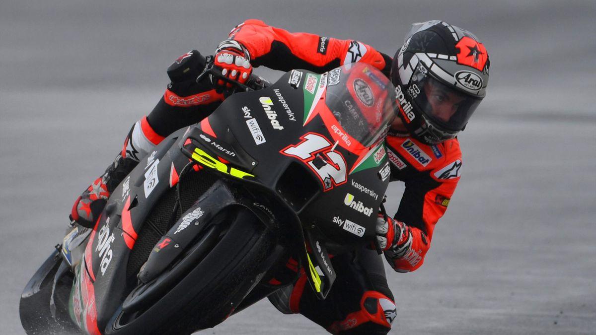 Maverick Viñales (Aprilia). GP San Marino 2021