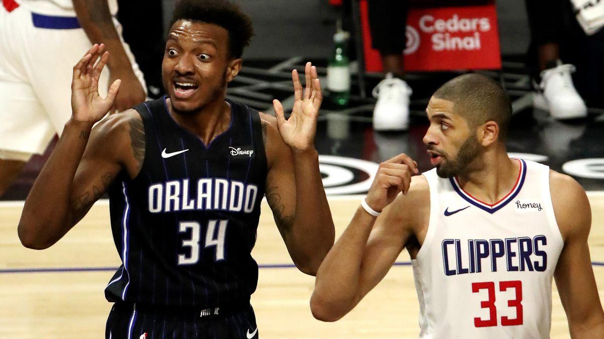 Nicolas Batum (Clippers) face à Orlando