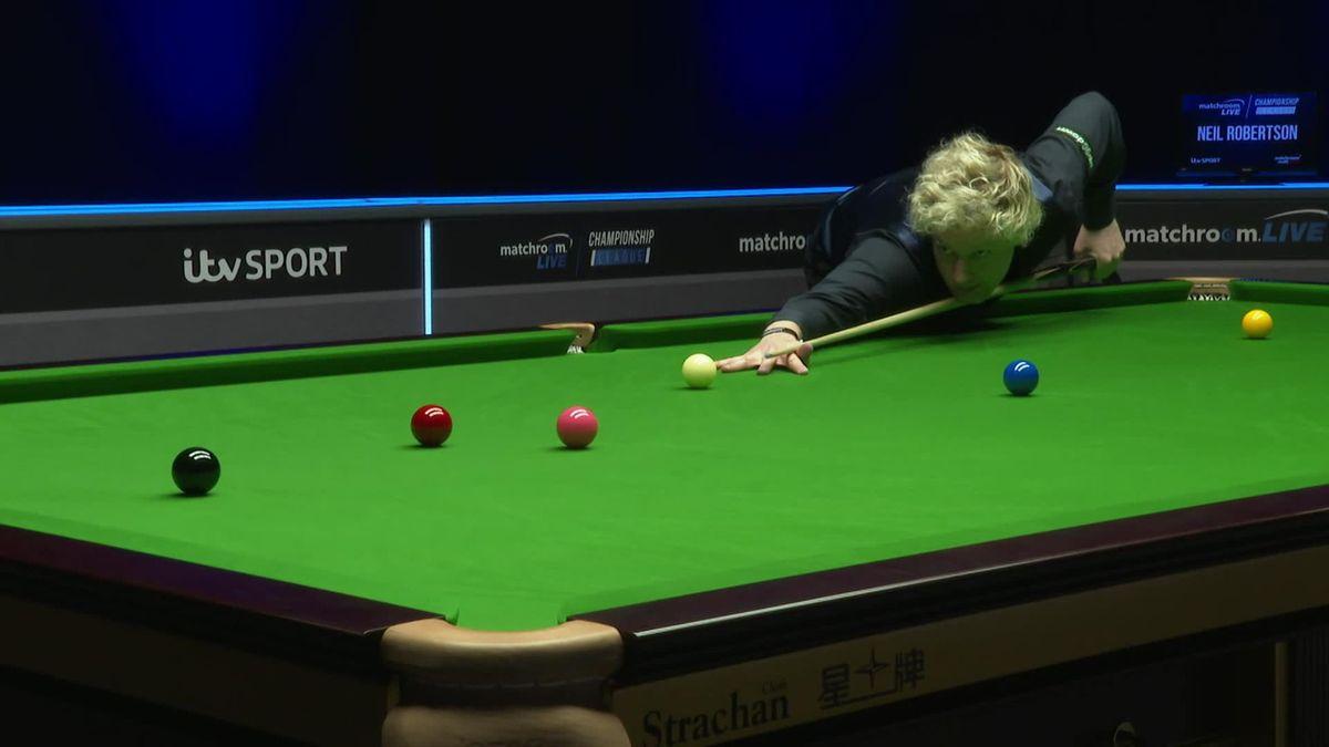 Championship League: Neil Robertson în meciul cu Maflin