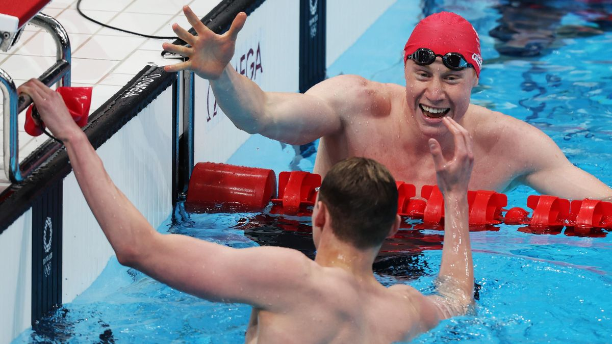 'I don't believe what I have just seen!' – Dean leads in Scott for GB one-two