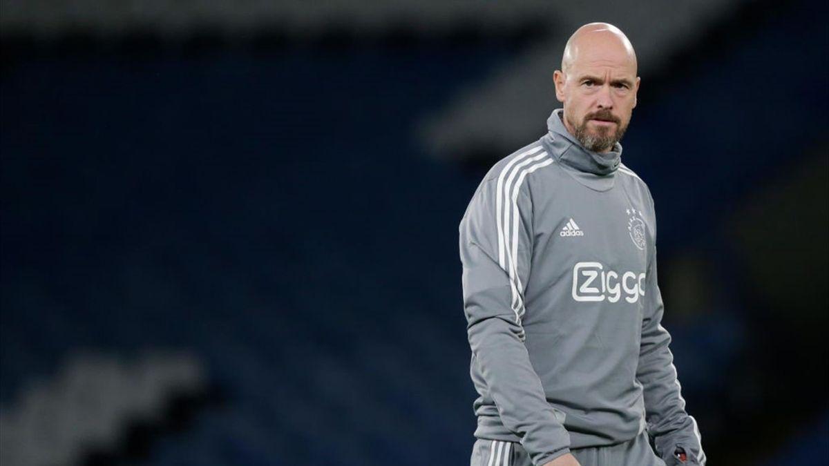 Erik ten hag von Ajax Amsterdam
