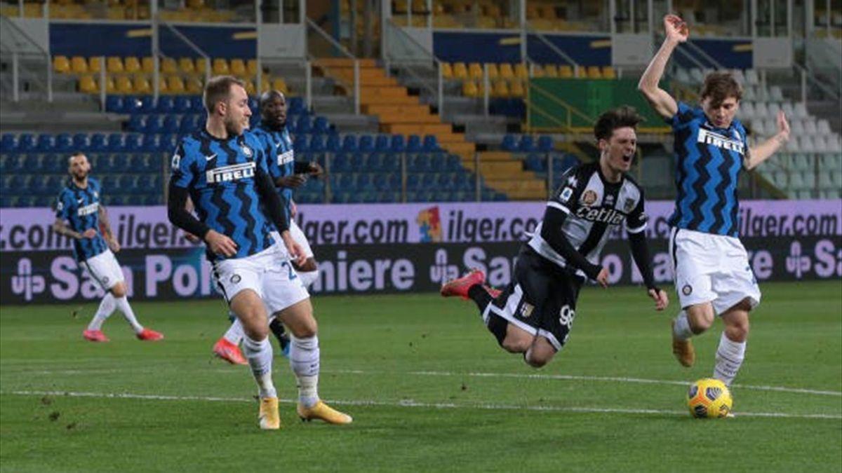 Dennis Man (Parma-Inter)