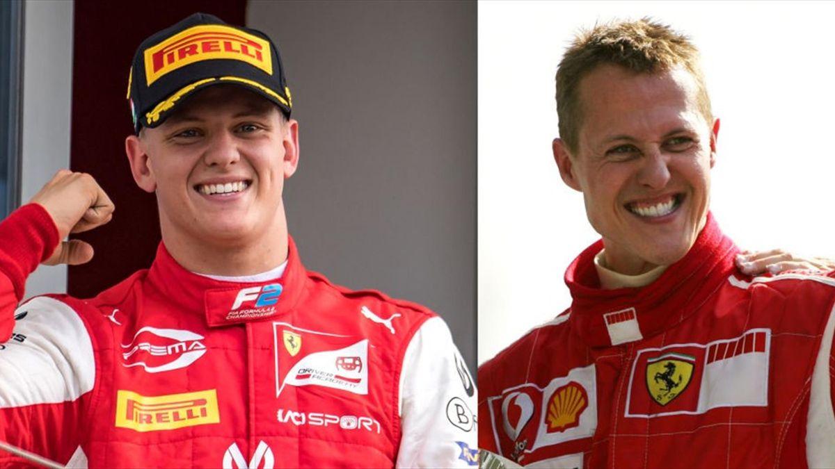 Mick Schumacher și Michael Schumacher