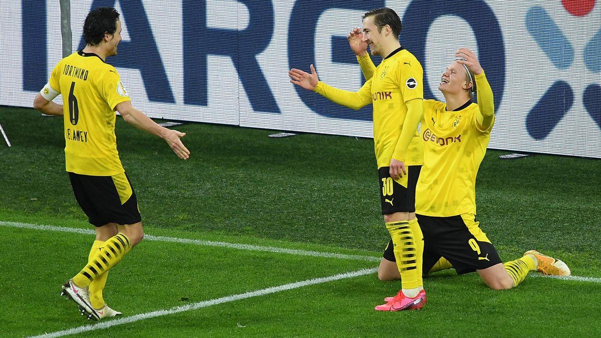 Borussia Dortmund gegen den SC Paderborn