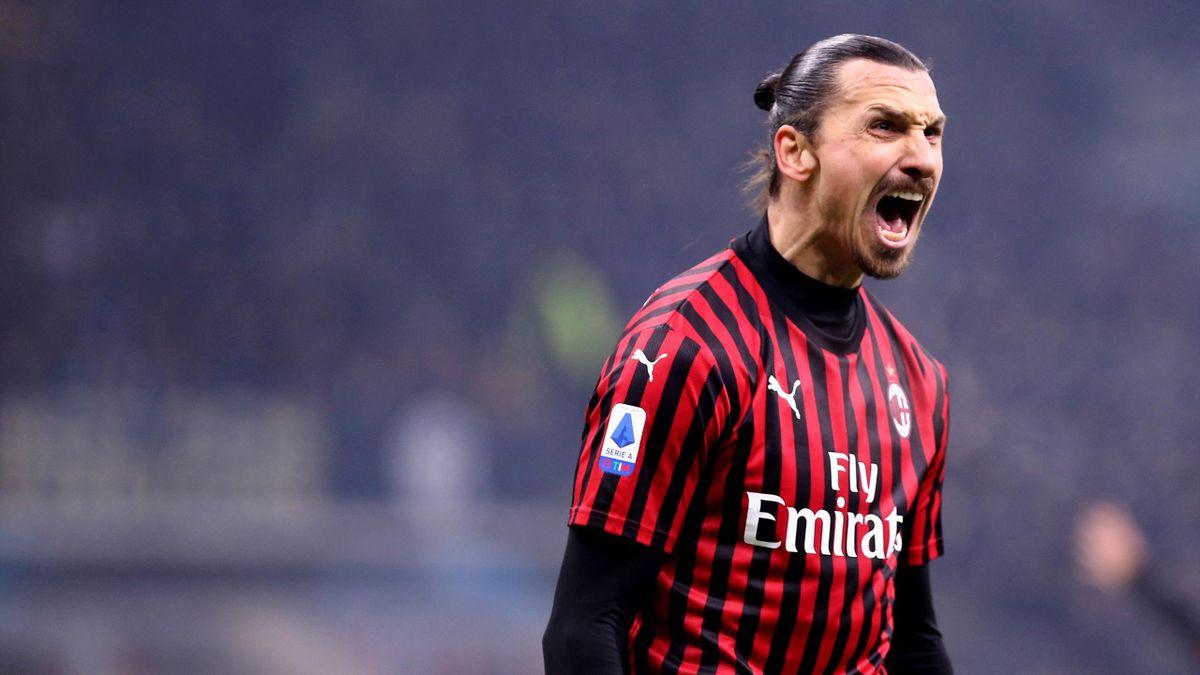 Zlatan Ibrahimovic steht vor eine Verlängerung beim AC Mailand