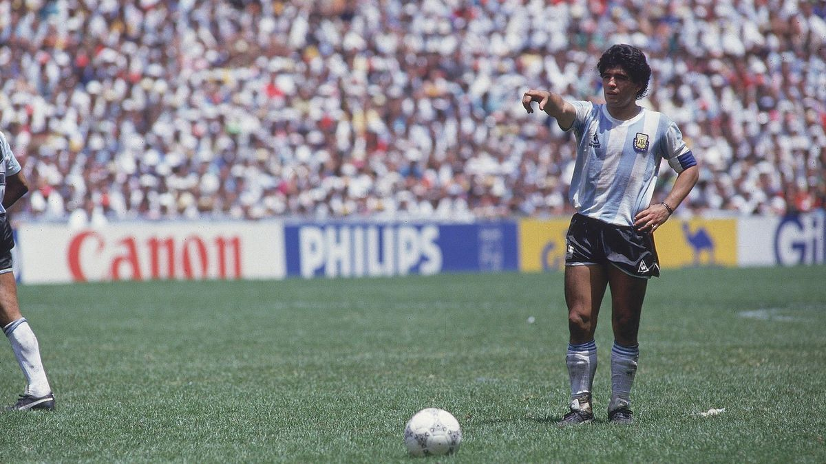 Diego Maradona, fostul campion mondial din 1986