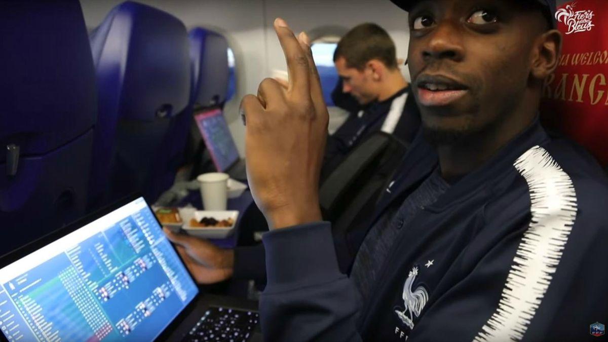 """Ousmane Dembélé et son """"nouveau projet"""" : le Winchester FC sur le jeu vidéo """"Football Manager""""."""