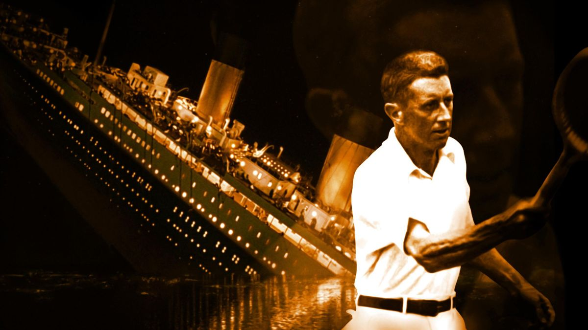 Dick Williams, du Titanic au sommet du tennis mondial (Visuel par Marko Popovic)