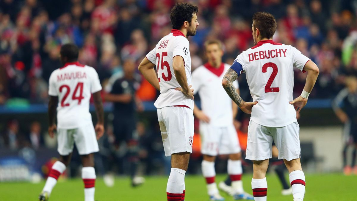 A l'image de la claque (6-1) infligée par le Bayern en 2012, le LOSC a connu de nombreuses déceptions en Ligue des champions