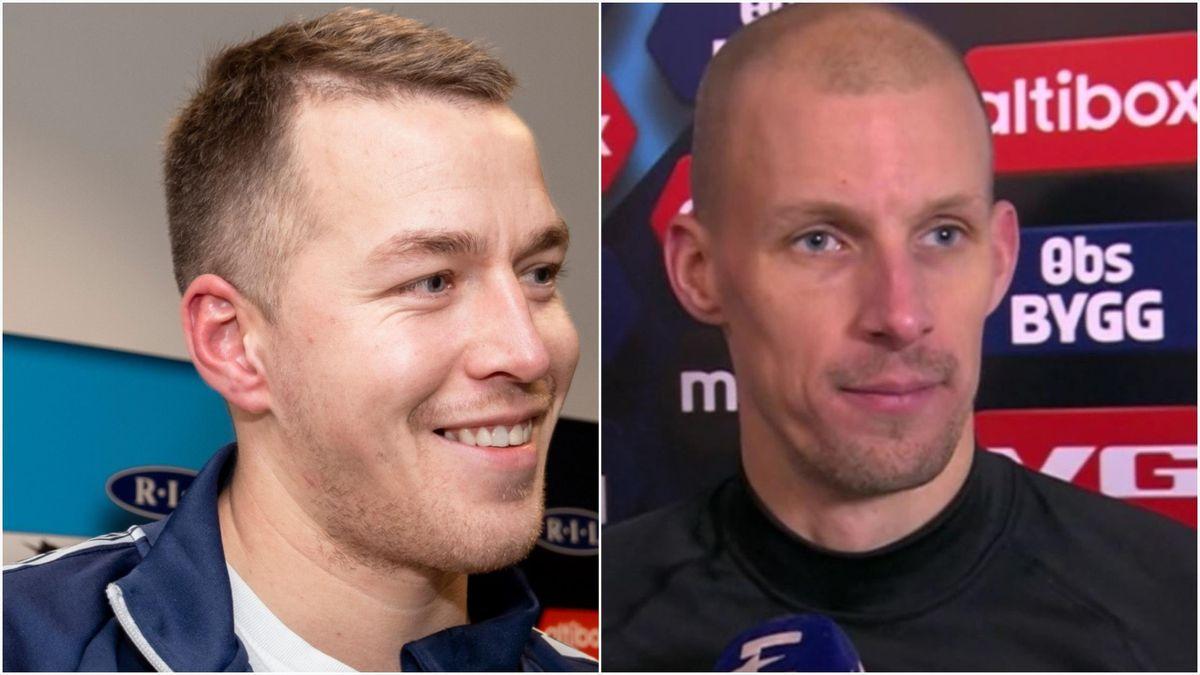 Michael Karlsen (Ranheim) og André Hansen (Rosenborg)