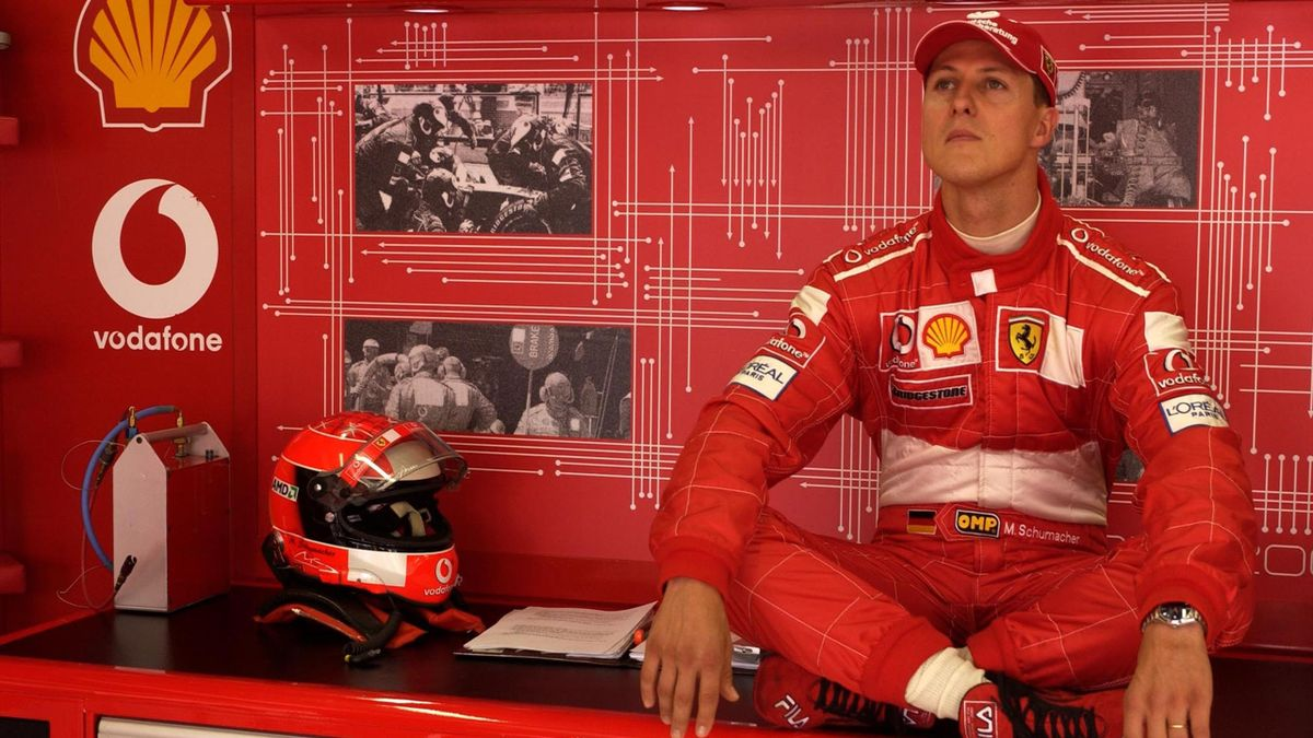 Michael Schumacher (Ferrari) - GP of France 2003