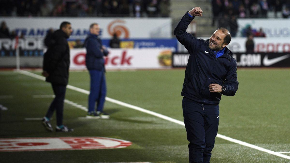 Pablo Correa, entraîneur d'une AS Nancy Lorraine conquérante en Ligue 2
