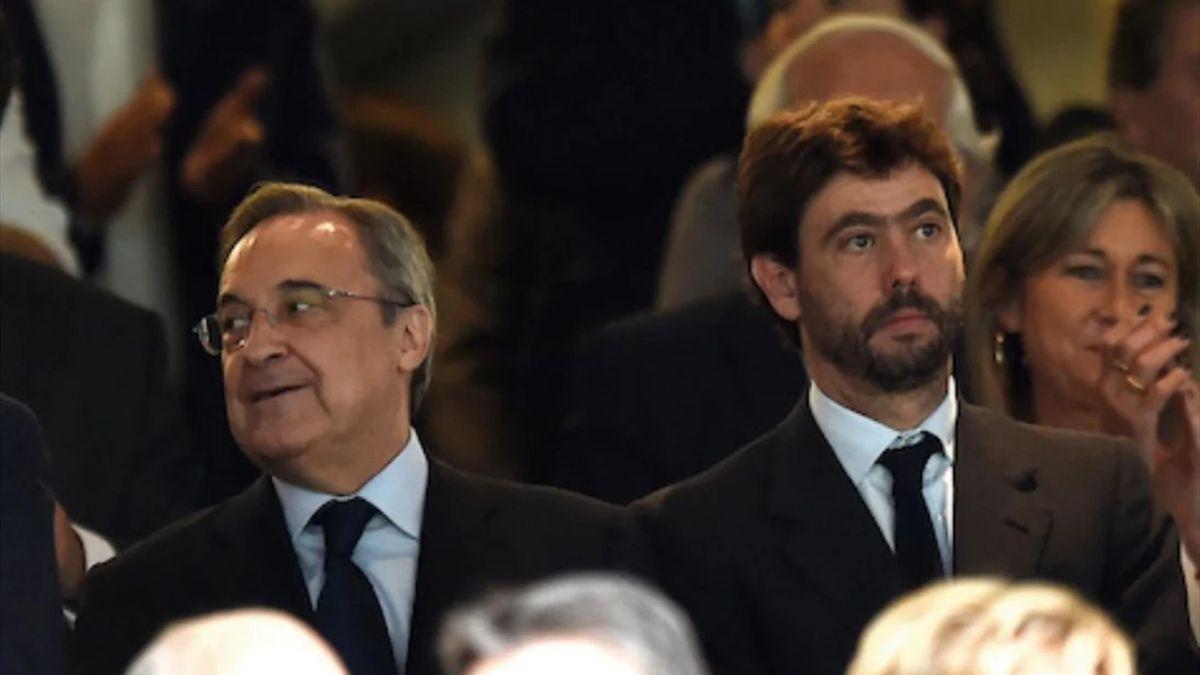 Florentino Perez & Andrea Agnelli
