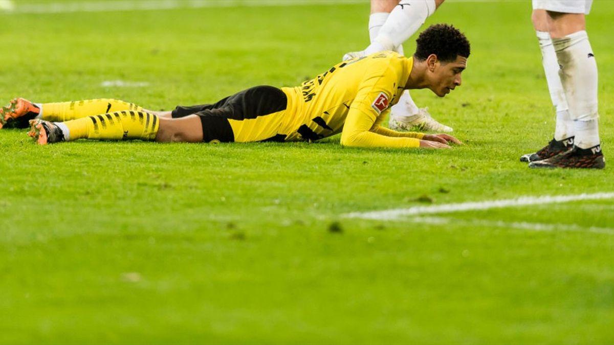Jude Bellingham im Spiel bei Borussia Mönchengladbach
