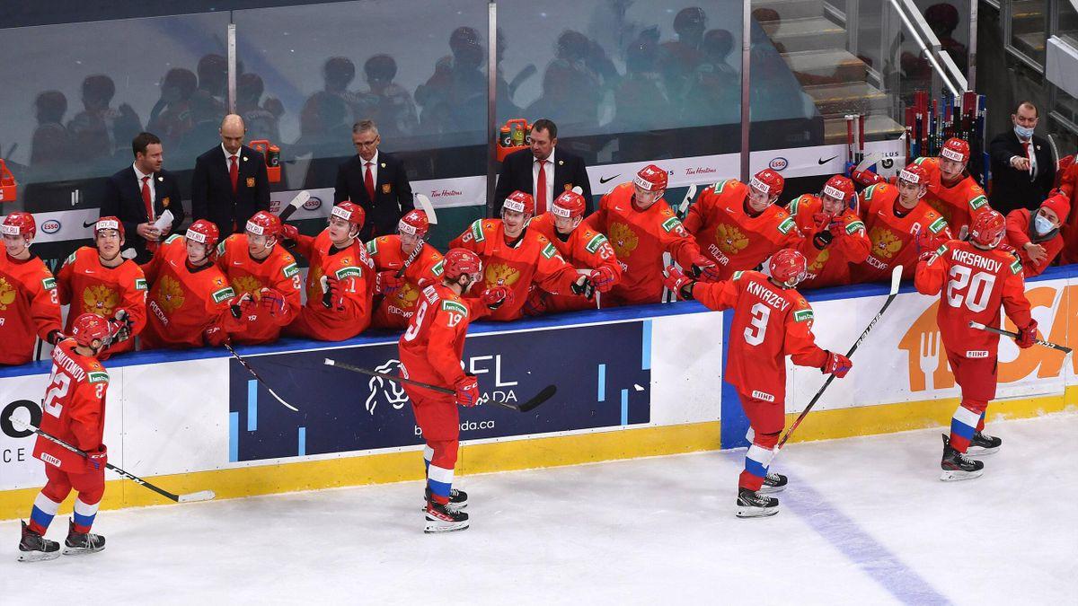 Сборная России на молодежном чемпионате мира-2021