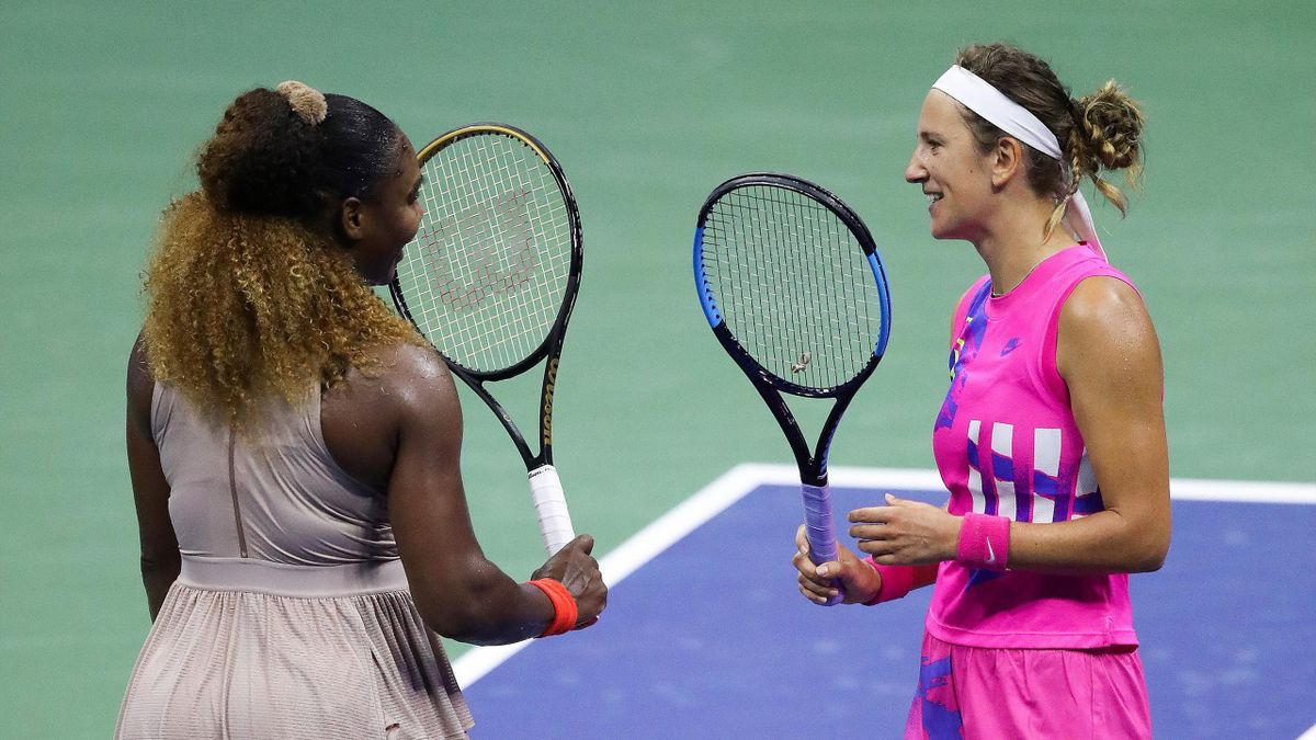 Serena Williams og Victoria Azarenka